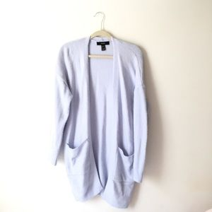 Baby Blue Long Cardigan | Forever 21 | Small